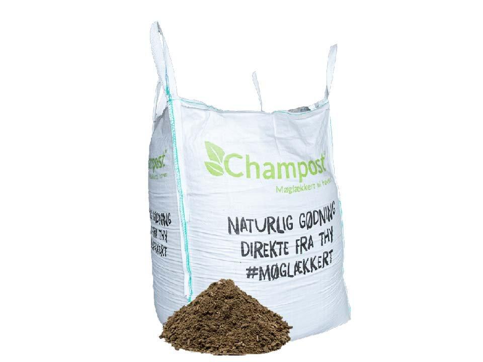 Champost Bigbag, Højbedsmuld - 900 liter