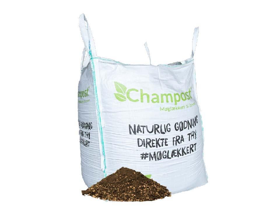 Champost Bigbag, Tagjord - 900 liter