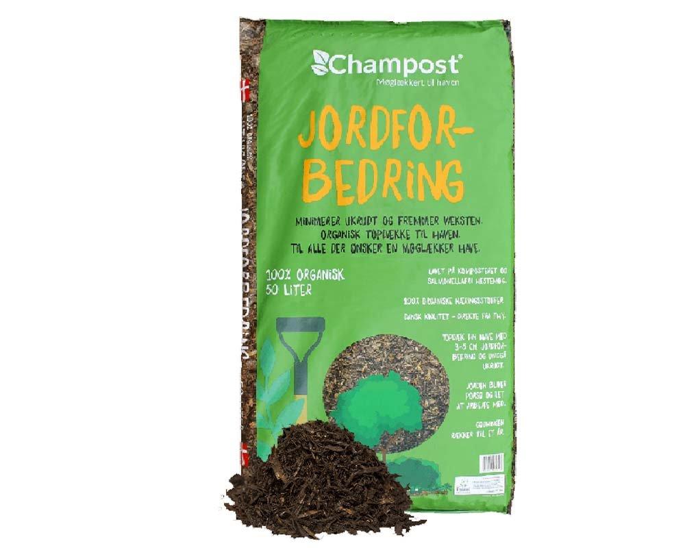 Champost jordforbedring, 50 liter
