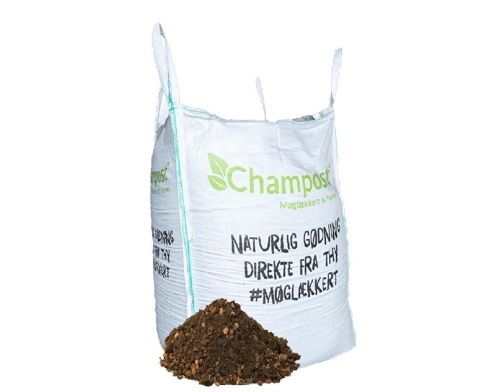 Champost Bigbag, Spagnumfri jord - 900 liter